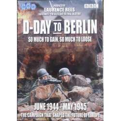 D-Day to Berlin. Fra Juni 1944 til maj 1945. 3 DVD. BBC