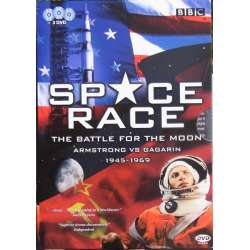 Space Race: Armstrong vs Gagarin. 3 DVD. BBC