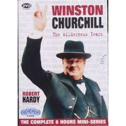 Winston Churchill: The Wildernes Years. Robert Hardy. 4 DVD. BBC