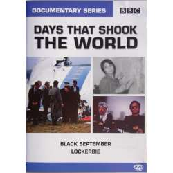 Black September. & Lockerbie disaster Pan AM 747. 1 DVD. BBC