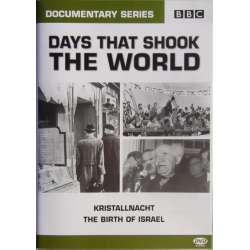 Kristallnacht. & The Birth of Israel. 1 DVD. BBC