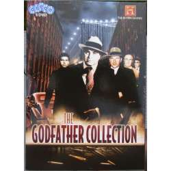 The Godfather Collection. Al Capone, Genovese familien, Meyer Lansky, Bugsy Segal, Joe Bonnano. 5 DVD