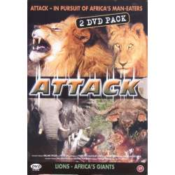 Attack: Man Eaters - Lions. 2 DVD.