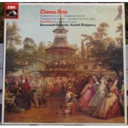 Arne: Symfoni nr. 1 - 4. Bournemouth SO. Montgomery. 1 LP. EMI. CSD 2767