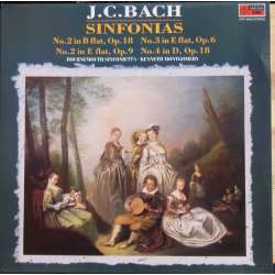 JC. Bach: Sinfonias. Kenneth Montgomery. Bournemouth SO. 1 LP. EMI. Nyt eksemplar