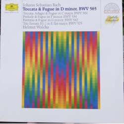 Bach: Toccata and fugue i D minor. BWV 565 & BWV 564, 534, 542, 525. Helmut Walcha. 1 LP DG. A brand new copy.