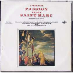 Bach: St. Marc Passion in highlights. Gönnenwein. 1 LP. Erato STU 70246