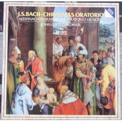 Bach: Christmas Oratorio. Gardiner, Johnson, Argenta, von Otter, Olaf Bär. 3 LP Archiv. New Copy