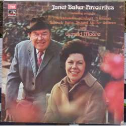Janet Baker Favourites. With Gerald Moore piano. 1 LP. EMI. ASD 2929