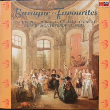 Baroque Favourites. Canon and Gigue, Chaconne, Concerti Grossi. 1 LP. EMI. New Copy