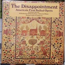 Andrew Barton: The Disappointment (opera) Fargo, Hopkin, Sharp. Samuel Adler. 1 LP. Turnabout. TVS 34650