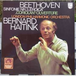 Beethoven: Symfoni nr. 3. Bernard Haitink, London PO. 1 LP. Philips