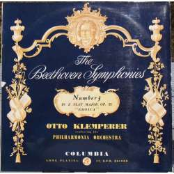 Beethoven: Symphony no. 3. Otto Klemperer. Philharmonia Orchestra. 1 LP Columbia 33CX 1346.