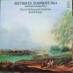 Beethoven: Symphony no. 4. Rudolf Kempe, Munich Philharmonic Orchestra. 1 LP. EMI. New Copy.