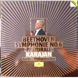 Beethoven: Symphony no. 6. Herbert von Karajan, Berliner Philharmoniker. 1 LP. DG. New Copy