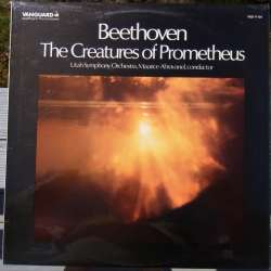 Beethoven: The Creation of Prometheus, - Ballet. Utah SO. Abravanel. 1 LP. Vanguard