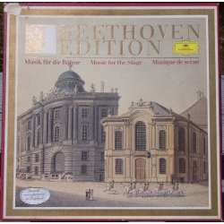 Beethoven: Overtures & Music for the Stage. BPO. Karajan. 3 LP. Deutsche Grammophon
