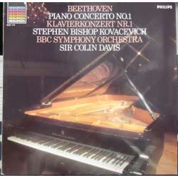 Beethoven: Piano Concerto no. 1. Kovacevich, BBC SO. Colin Davis. 1 LP. Philips. New Copy