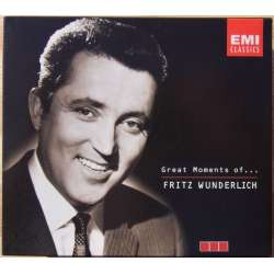 Great Moments of Fritz Wunderlich. 3 CD. EMI