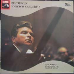 Beethoven: Piano Concerto no. 5. Emil Gilels, George Szell. 1 LP. EMI. New Copy