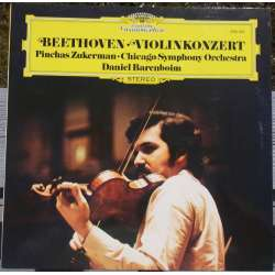 Beethoven: Violinkoncert. Zukerman. Chicago SO. Barenboim. 1 LP. Deutsche Grammophon
