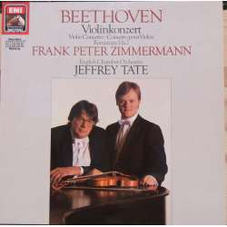 Beethoven: Violin Concerto + Romances. Zimmermann. Tate. 1 LP. EMI. New Copy