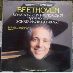 Beethoven: Piano sonatas no. 7, & 23. Russel Sherman. 1 LP.