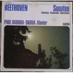 Beethoven: Piano Sonatas no. 8, 14 & 23. Paul Badura-Skoda. 1 LP. EMI
