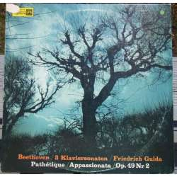 Beethoven: Piano Sonatas no. 8, 20, & 23. Friedrich Gulda. 1 LP. MMS