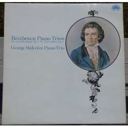 Beethoven: Piano trio no. 1 & 3. George Malcolm trio. 1 LP.