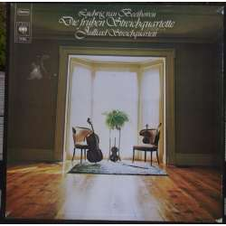 Beethoven: The Early String Quartets. Op. 18, no. 1-6. Julliard String Quartet. 3 LP. CBS