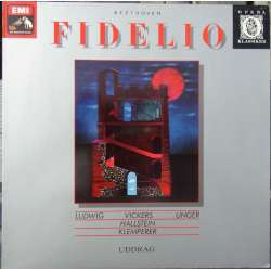 Beethoven: Fidelio. (i uddrag) Otto Klemperer, Ludwig, Vickers, Frick, Unger, Berry. 1 LP. EMI