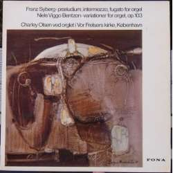 Niels Viggo Bentzon: Variations for Orgel. Charley Olsen. 1 LP. Fona