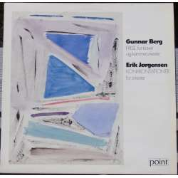 Gunnar Berg: Frise for piano and chamber orchestra. Danish Radio SO. Tamas Vetö. 1 LP. Point