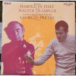 Berlioz: Harold in Italy. Walter Trampler, George Pretré, London Symphony Orchestra. 1 LP. RCA SB 6808. (1969)