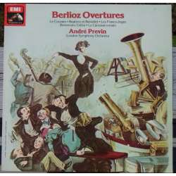 Berlioz: Overtures. Andre Previn, London SO. 1 LP. EMI ASD 3212.