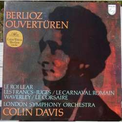 Berlioz: Overtüres. Colin Davis, London SO. 1 LP. Philips
