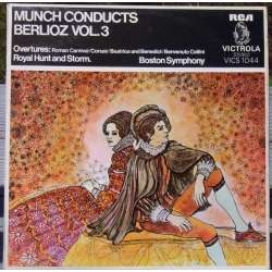 Berlioz: Overtüres. Boston Symphony Orchestra. Charles Munch. 1 LP. RCA