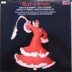 Bizet: Carmen. Vickers, Bumbry, Freni. de Burgos. 2 LP. EMI. New Copy