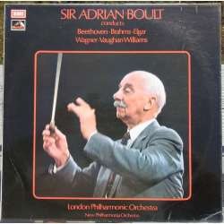 Sir Adrian Boult dirigerer, Beethoven, Brahms, Elgar, Wagner & Vaughan-Williams 1 LP. EMI
