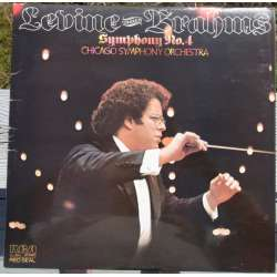 Brahms: Symfoni nr. 4. James Levine, Chicago SO. 1 LP. RCA