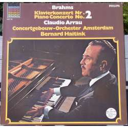 Brahms: Piano Concerto no. 2. Claudio Arrau, Bernard Haitink. 1 LP. Philips. New Copy