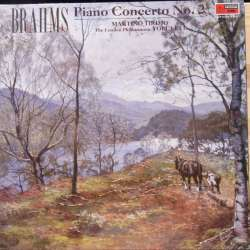 Brahms: Piano Concerto no. 2. Martino Tirimo, Yoel Levi. 1 LP. EMI. New Copy