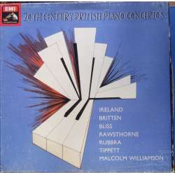 British Piano Concertos by Ireland, Britten, Bliss, Rawstone, Rubbra, Tippet, Williamson. 4 LP. EMI. SLS 5080