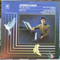 Britten: The Young Persons Guide & Prokofiev: Music from Cinderella. Andrew Davis, LSO. 1 LP. CBS.