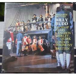 Britten: Billy Budd. Pears, Glossop. LSO. Britten. 3 LP. Decca. SET 379. New Copy