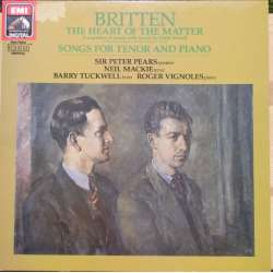 Britten: Songs. Peter Pears, Tuckwell, Vignoles. 1 LP. EMI. New Copy