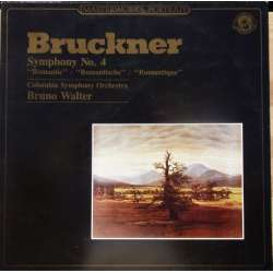 Bruckner: Symphony no. 4. Bruno Walter. 1 LP. CBS. New Copy