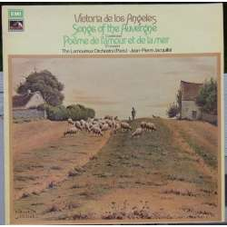 Canteloube: Songs from Auvergene, V. de los Angeles. 1 LP. EMI. ASD 2826