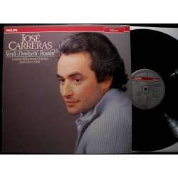 José Carreras: Verdi, Donizetti & Rossini: Opera arias. 1 LP. Philips